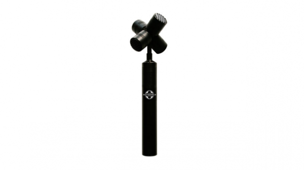 SoundField's SPS200 has four microphones arranged in a tetrahedron.