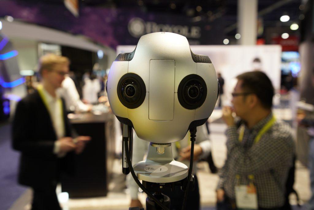 The Insta360 Pro VR camera