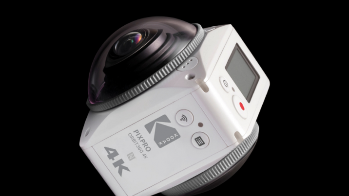 The Kodak PixPro Orbit360 is one of a handful of consumer 360-degree action cameras new at CES this year.