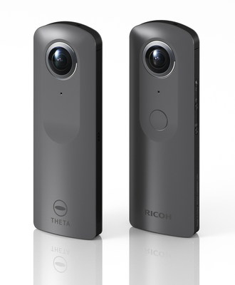 The images shared with the press release announcing the 4K Ricoh Theta appear to have the same sleek form factor as previous Ricoh Thetas.