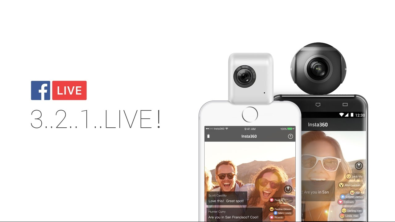 Facebook Live 360 video now open to all pages and profiles