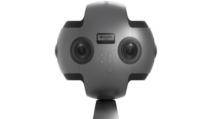 The Insta360 Pro can record 8K 360 video and 6K stereoscopic 360 video.