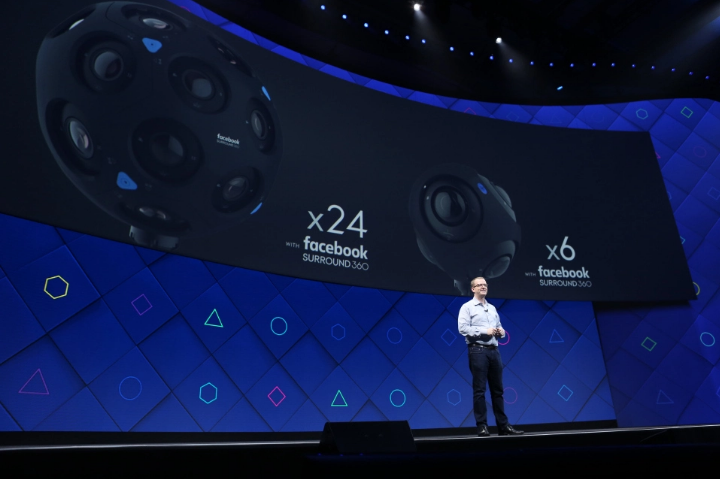 Facebook announced its new volumetric video cameras at day 2 of its F8 annual developers conference April 19, 2017.