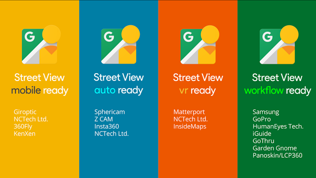Google announced 20 new StreetView-ready cameras earlier this week.