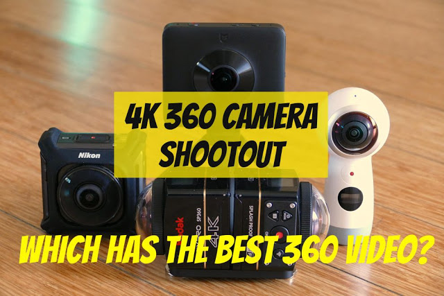 Over on 360 Rumors, I did a 4K 360 camera shootout, and here are the results.