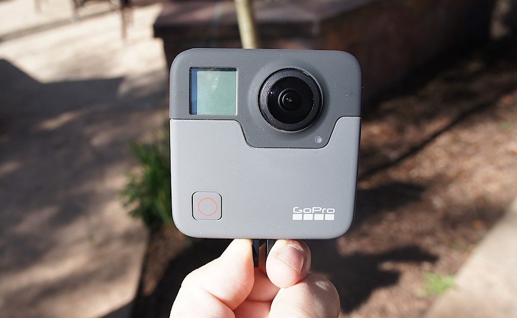 This is what the 5 2K GoPro Fusion 360 camera will look like