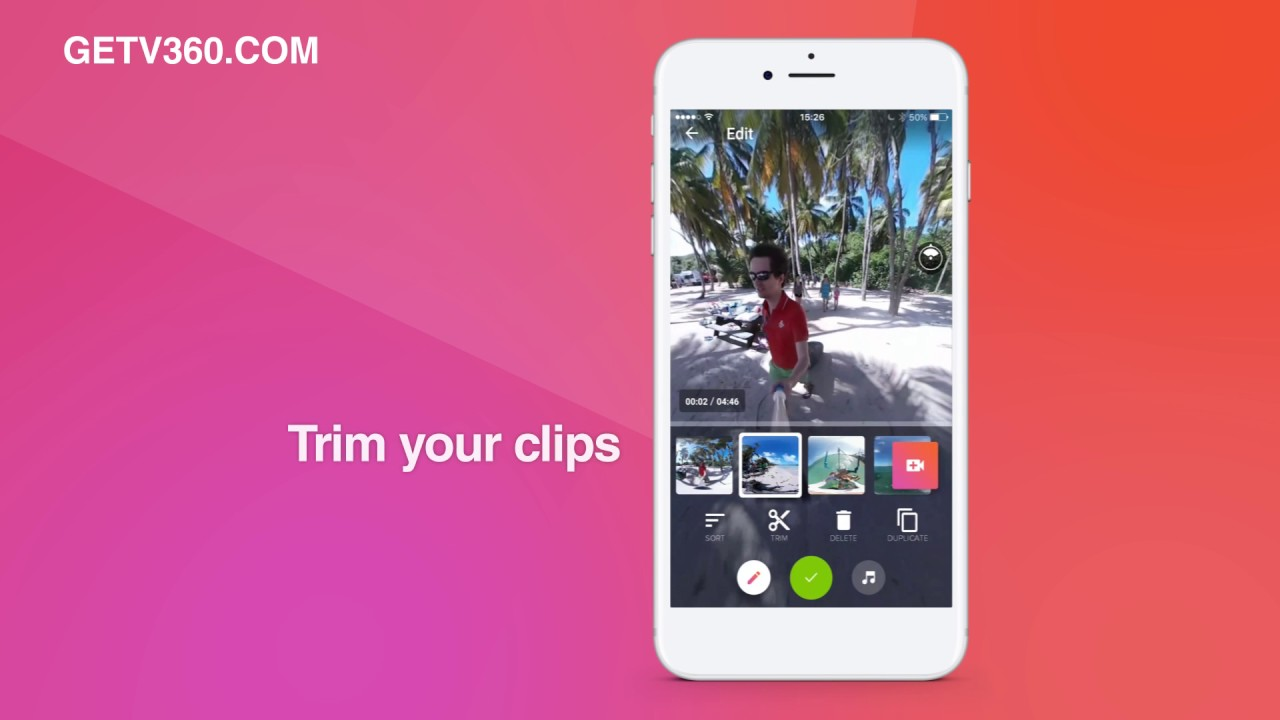how to add text to 360 video
