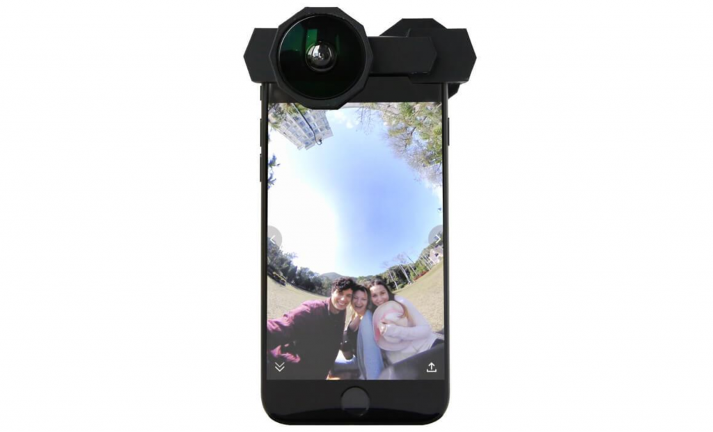 premium selection ac905 0806d NoMatterWhat: a new $40 360 camera accessory for smartphones ...