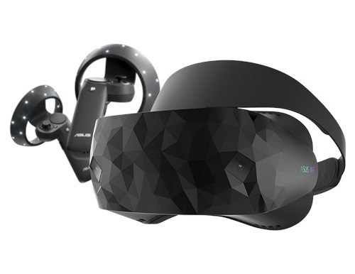 The Windows Mixed Reality headset from Asus is expected to ship in the spring of 2018.
