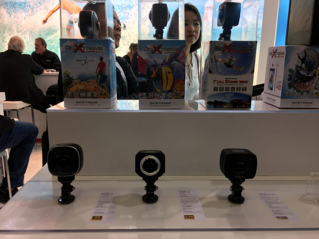 The Sphere 360 4K camera is GoXtreme's fifth 360 camera.