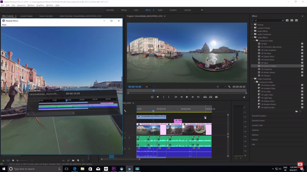 IBC 2017: Adobe's updating Premiere Pro with loads more VR