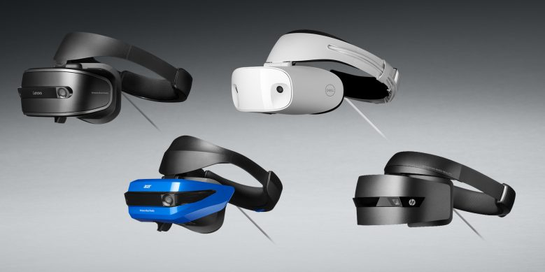 Four WIndows Mixed Reality headsets are expected to launch October 17, 2017, including versions from Dell, HP, Lenovo and Acer.