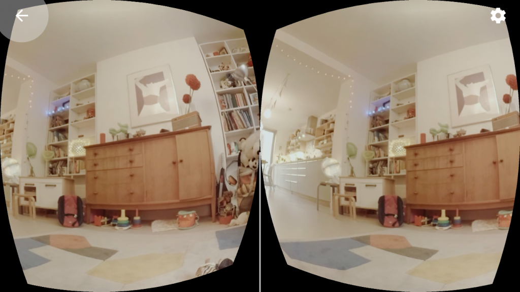 The new Guardian VR app requires viewers to download the experience, watch in a headset, and wear headphones.