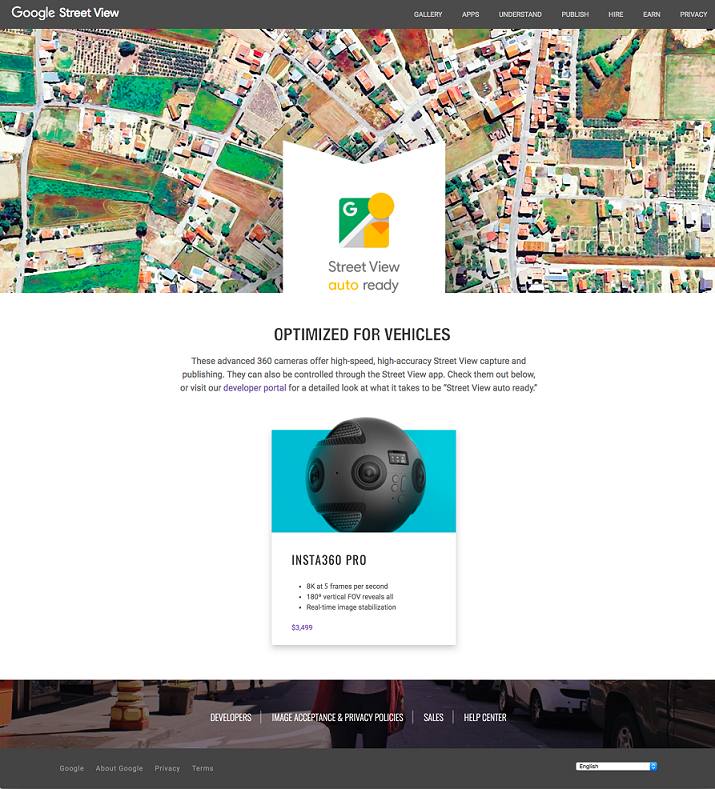 Anyone can now contribute to Street View, if they shoot with