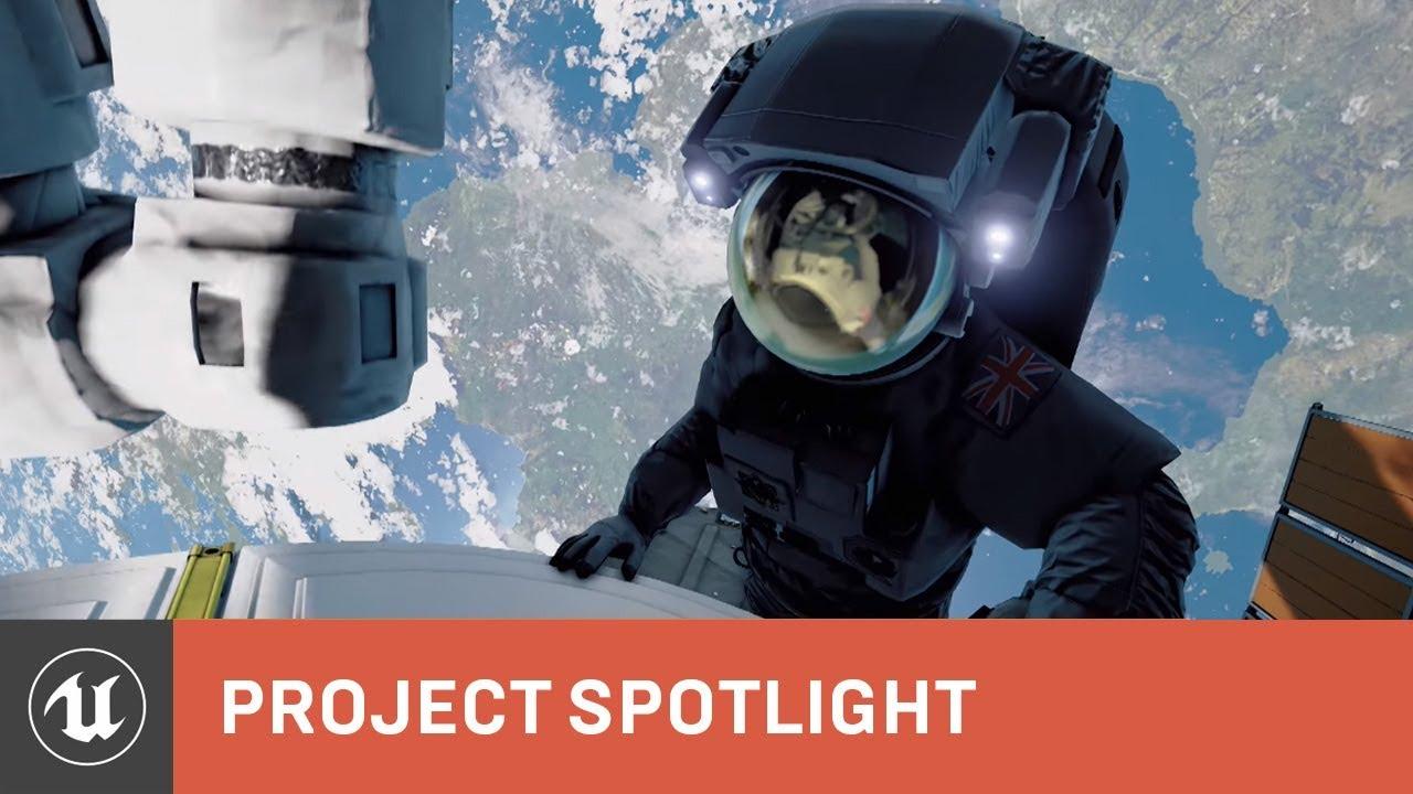 BBC-Home-A-VR-Spacewalk-Project-Spotlight-Unreal-Engine - Immersive