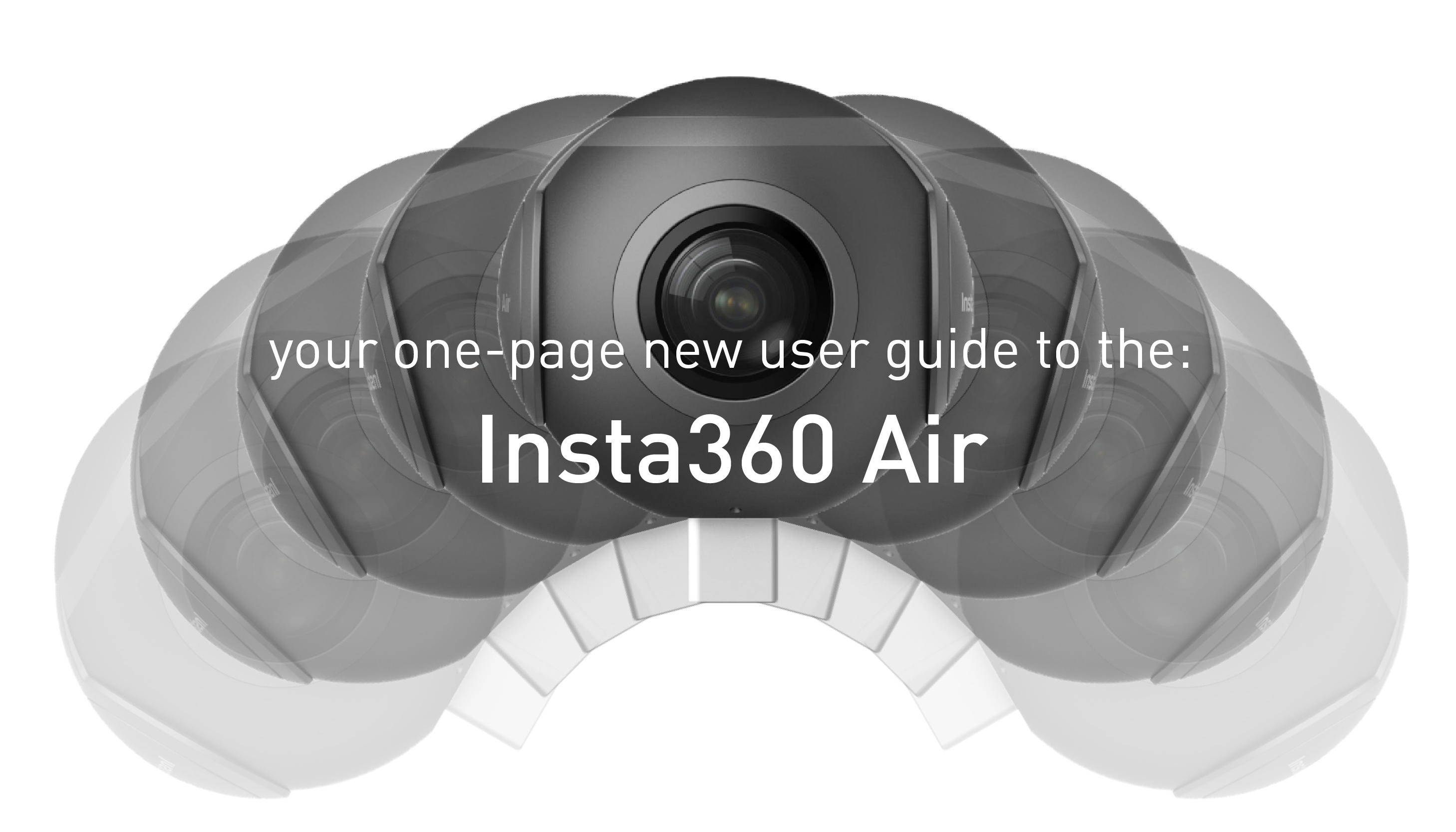 Your One-Page Guide to the Insta360 Air - Immersive Shooter