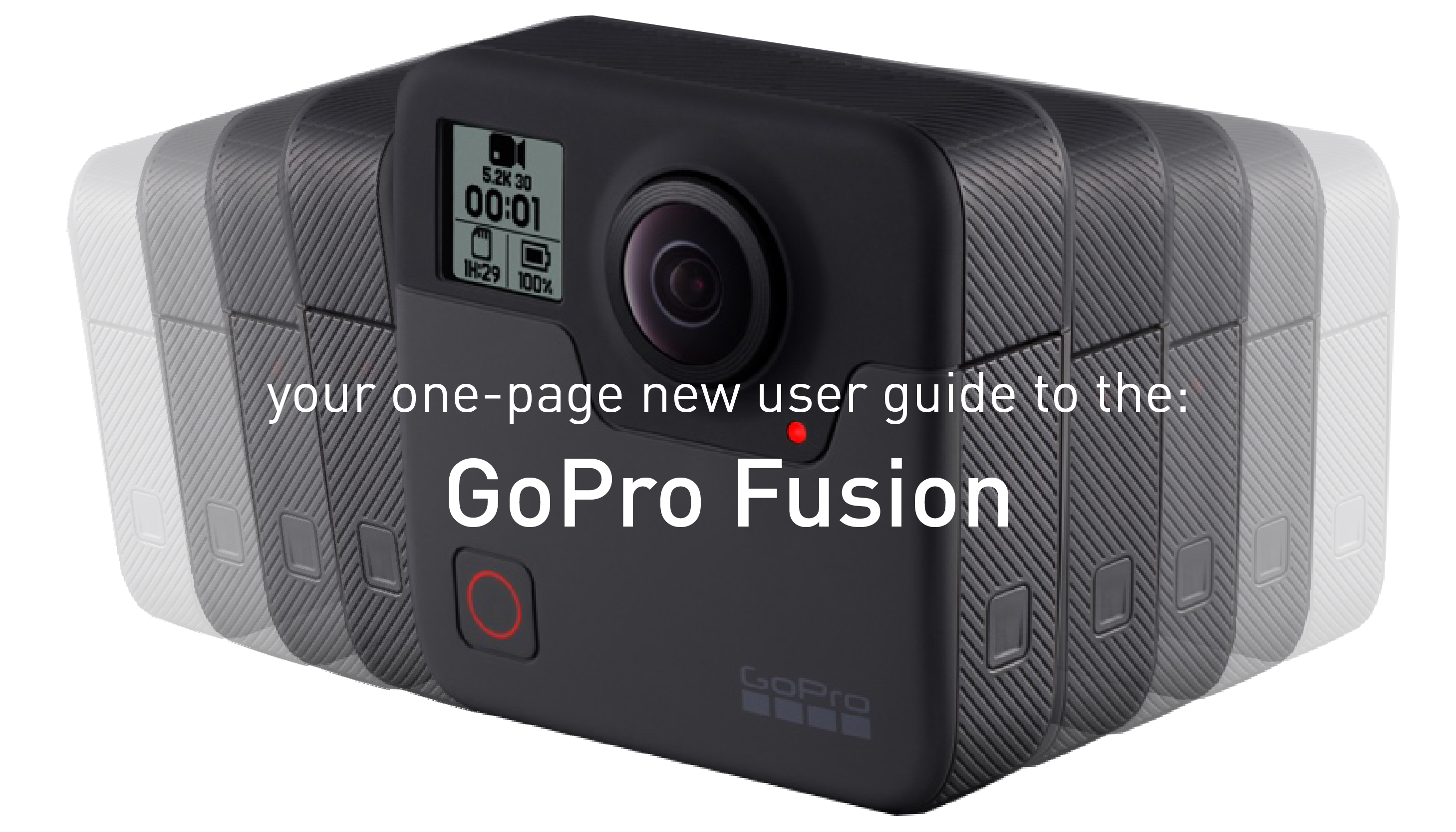your one page guide to the gopro fusion immersive shooter rh immersiveshooter com gopro hero user guide gopro fusion user guide