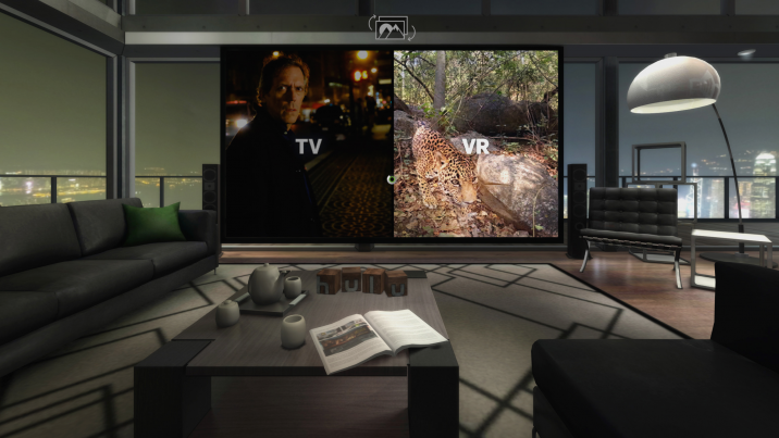 Hulu's VR app allows subscribers to watch anything from Hulu's library in a virtual environment, as well as original immersive content from a number of partners, now including Jaunt.