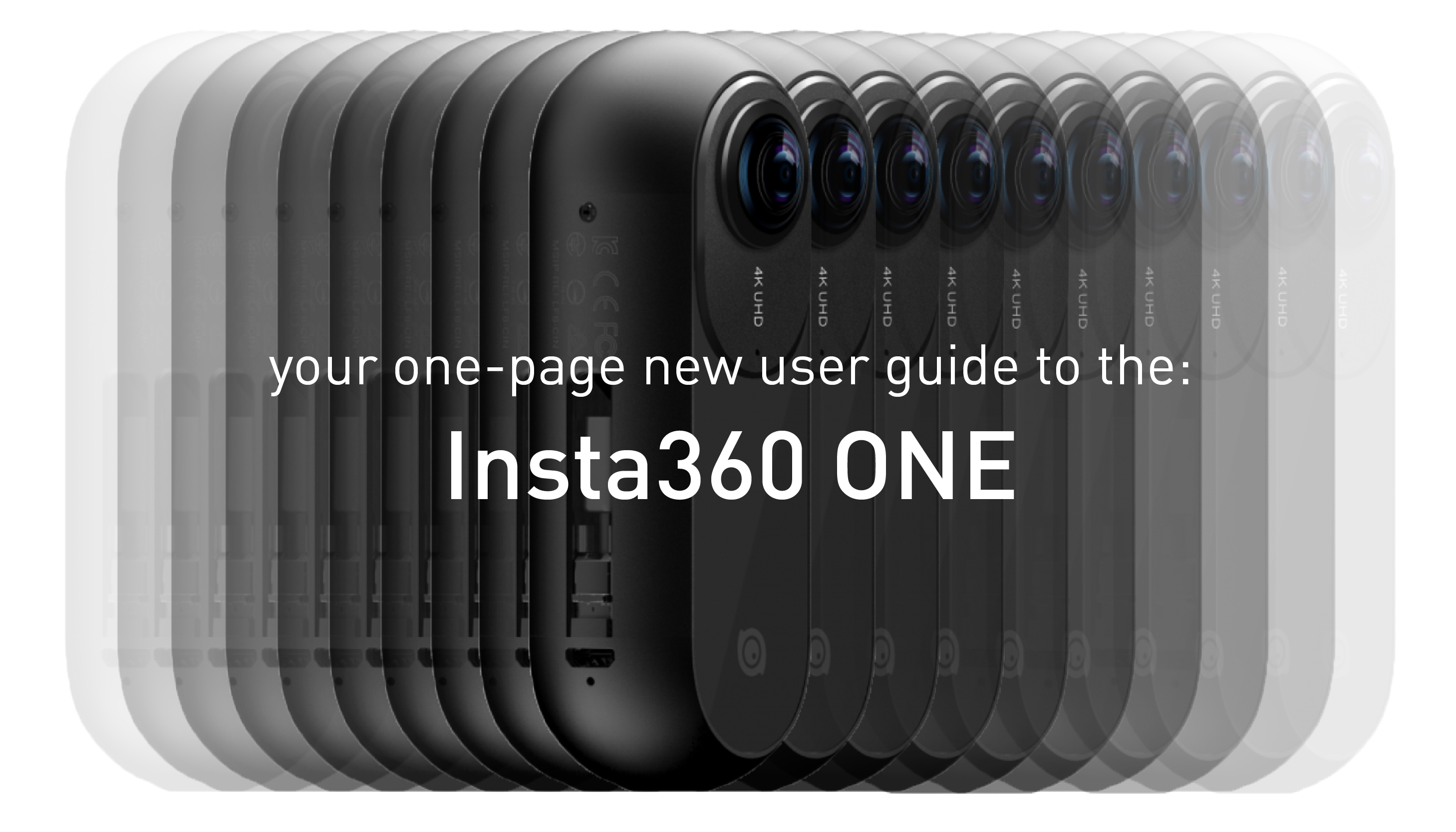 Your One Page Guide To The Insta360 One Immersive Shooter