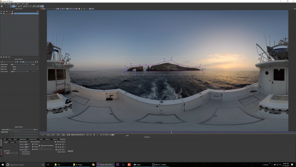 Mocha VR excels at stabilizing footage if there are any stable objects in the distance.