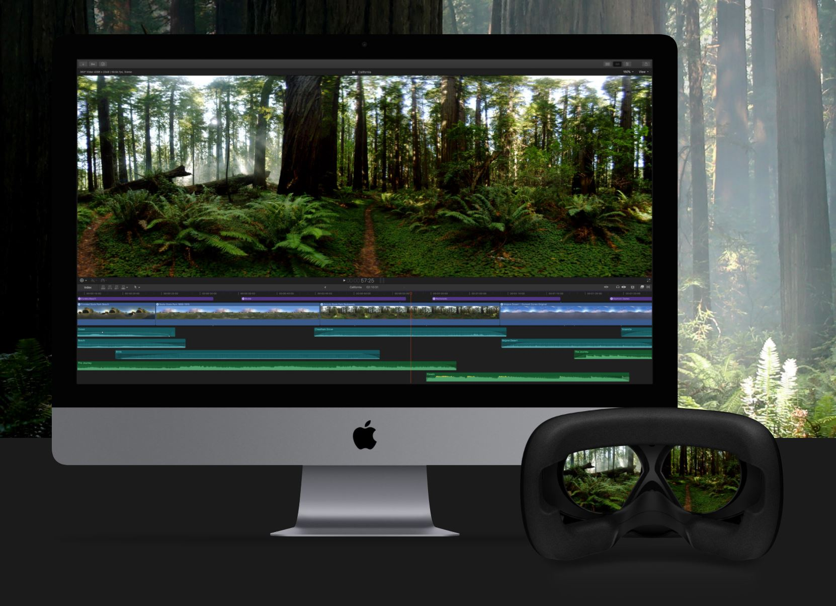 Final Cut Pro X adds new VR toolset as Apple launches its