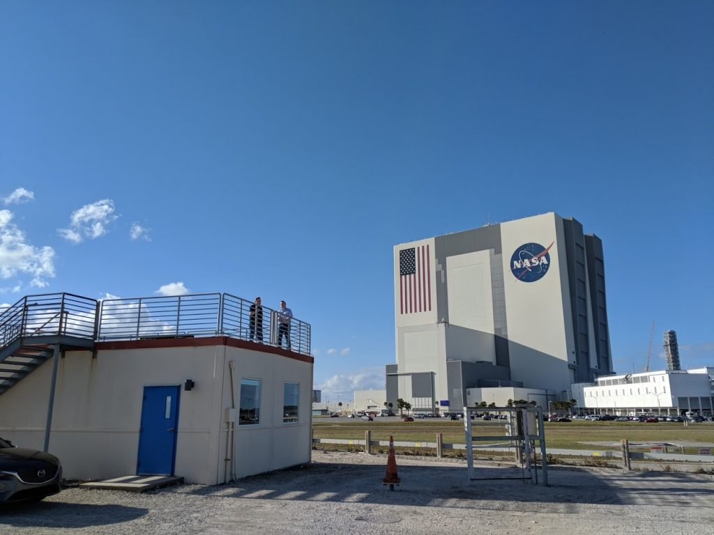 Ray made two trips to Kennedy Space Center. The rest of the tests were done remotely, with the help of the Florida Today team on-location.