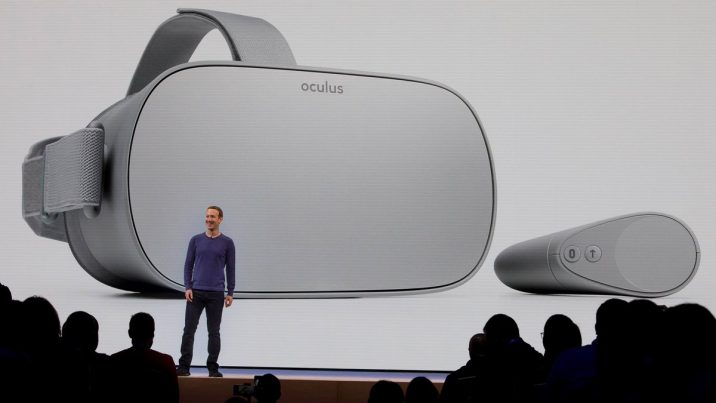 Facebook officially launched Oculus Go May 1 at its annual F8 conference in San Jose, California.