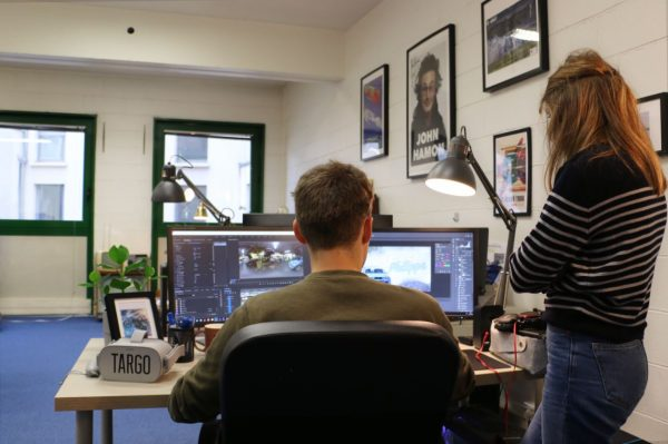 Chloe, at right, is TARGO's editor-in-chief and is responsible for planning out and overseeing TARGO's original content.