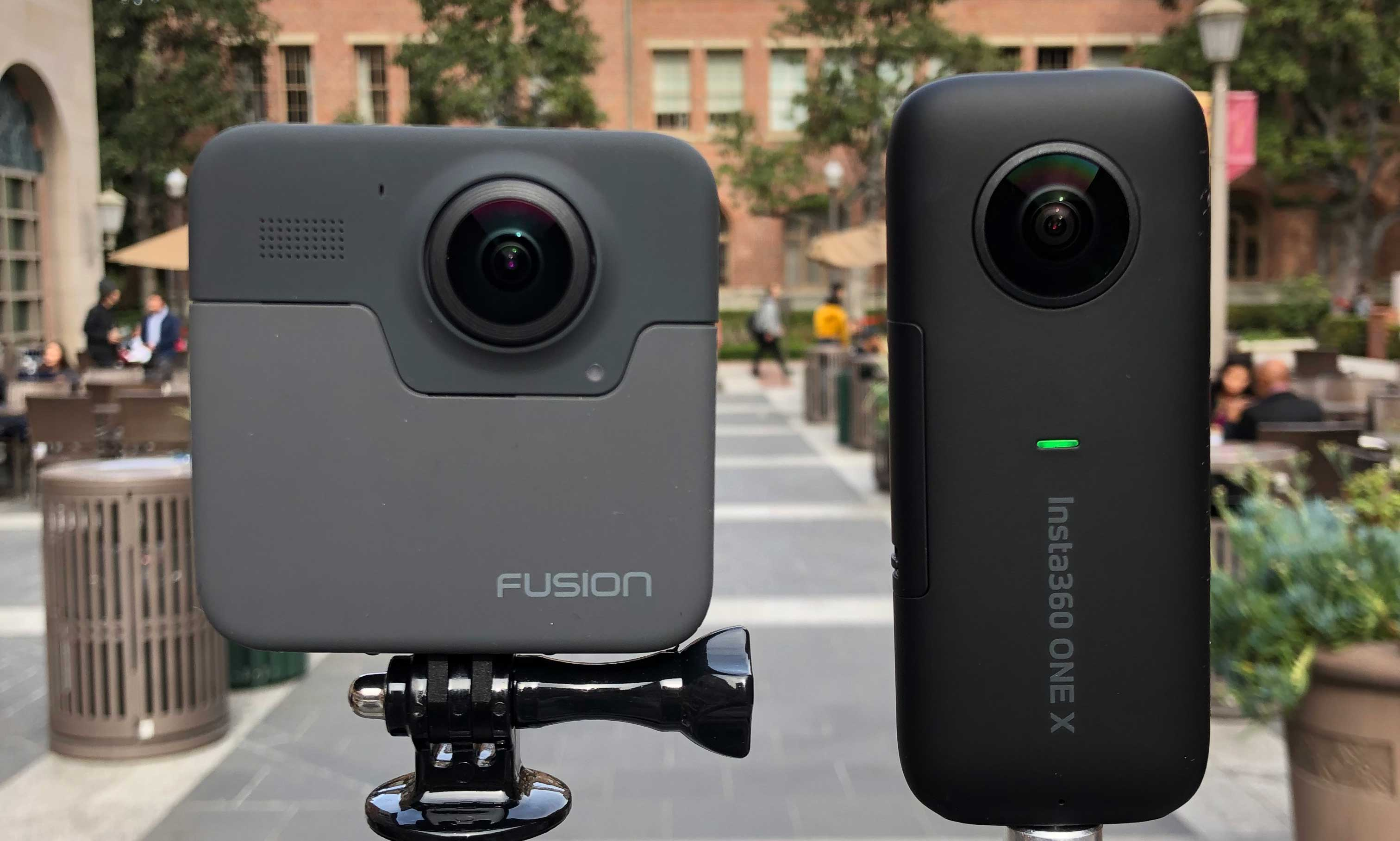Shootout: Insta360 ONE X vs GoPro Fusion - Immersive Shooter