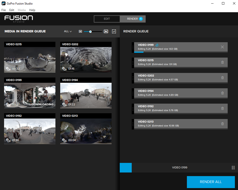 How to stitch 360 video with GoPro Fusion Studio - Immersive Shooter