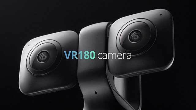 0f3dfd786e2 The Vuze XR camera can transform from 360 to 180.