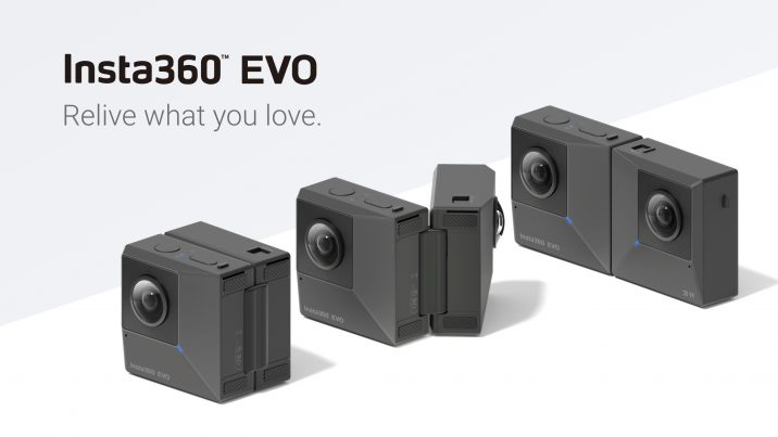 Insta360 announces EVO, a VR180 & 360 camera